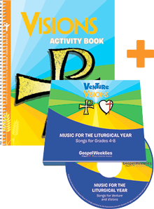 Visions Activity Book + 2 CD Set