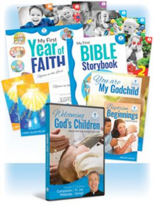 Welcoming God's Children: Baptism Connection Kit - Dvd And Cd Plus 10 Family Packets (Product/Goods)
