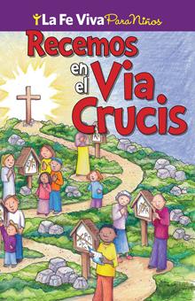 Recemos en el Via Crucis - Sticker Booklet (Spanish)