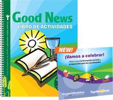 Good News Activity Book + 2 CD Set (Spanish)