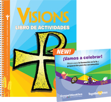 Visions Activity Book + 2 CD Set (Spanish)