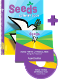 Seeds Activity Book + 2 CD Set