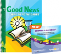Good News Activity Book + 2 CD Set (Spanish)