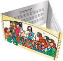 Lenten Tri-Fold Window Calendar