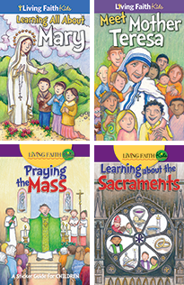 Living Faith Kids: Sticker Booklets - set of all 18 titles