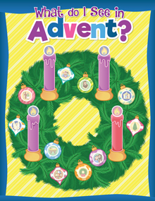 What do I See In Advent? Treasure Map of Advent Images