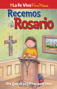 Recemos el Rosario - Sticker Booklet (Spanish)
