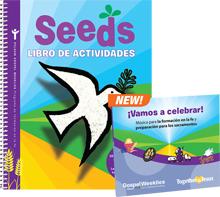 Seeds Activity Book + 2 CD Set (Spanish)