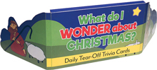 What Do I Wonder About Christmas? - Tear-Off Trivia Card Pack