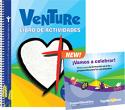 Venture Activity Book + 2 CD Set (Spanish)