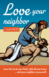 Love Thy Neighbor - Adult Prayer Card